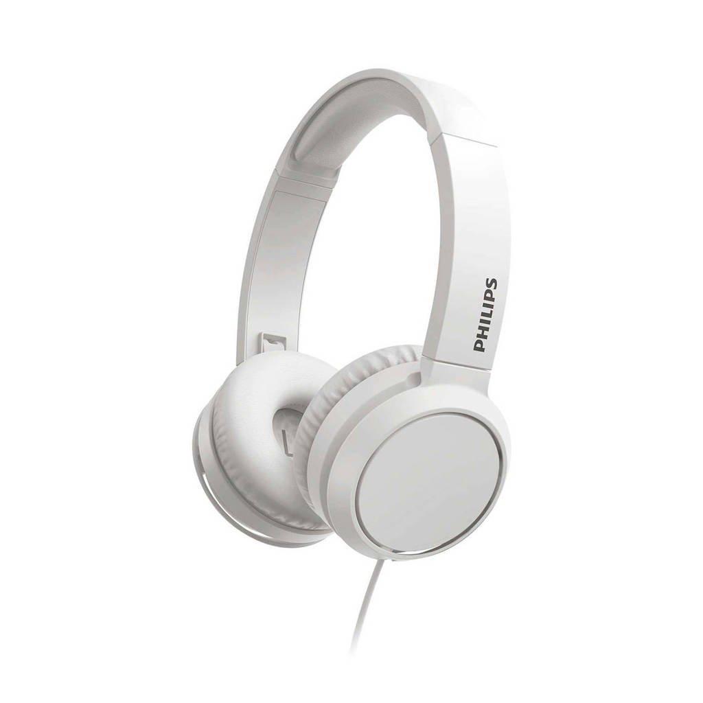 Philips TAH4105WT/00 on-ear hoofdtelefoon (wit), Wit