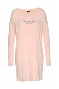 Lascana nachthemd roze, Roze