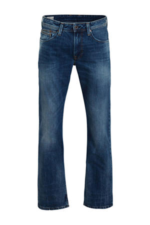 tapered fit jeans New Jeanius blauw