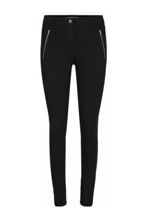 high waist skinny broek SC-LILLY 35-B zwart