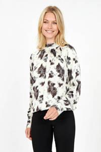 Soyaconcept blouse SC-LINEA 1 met all over print ecru, Ecru