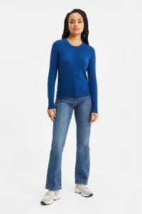 WE Fashion vest sea blue, Sea blue