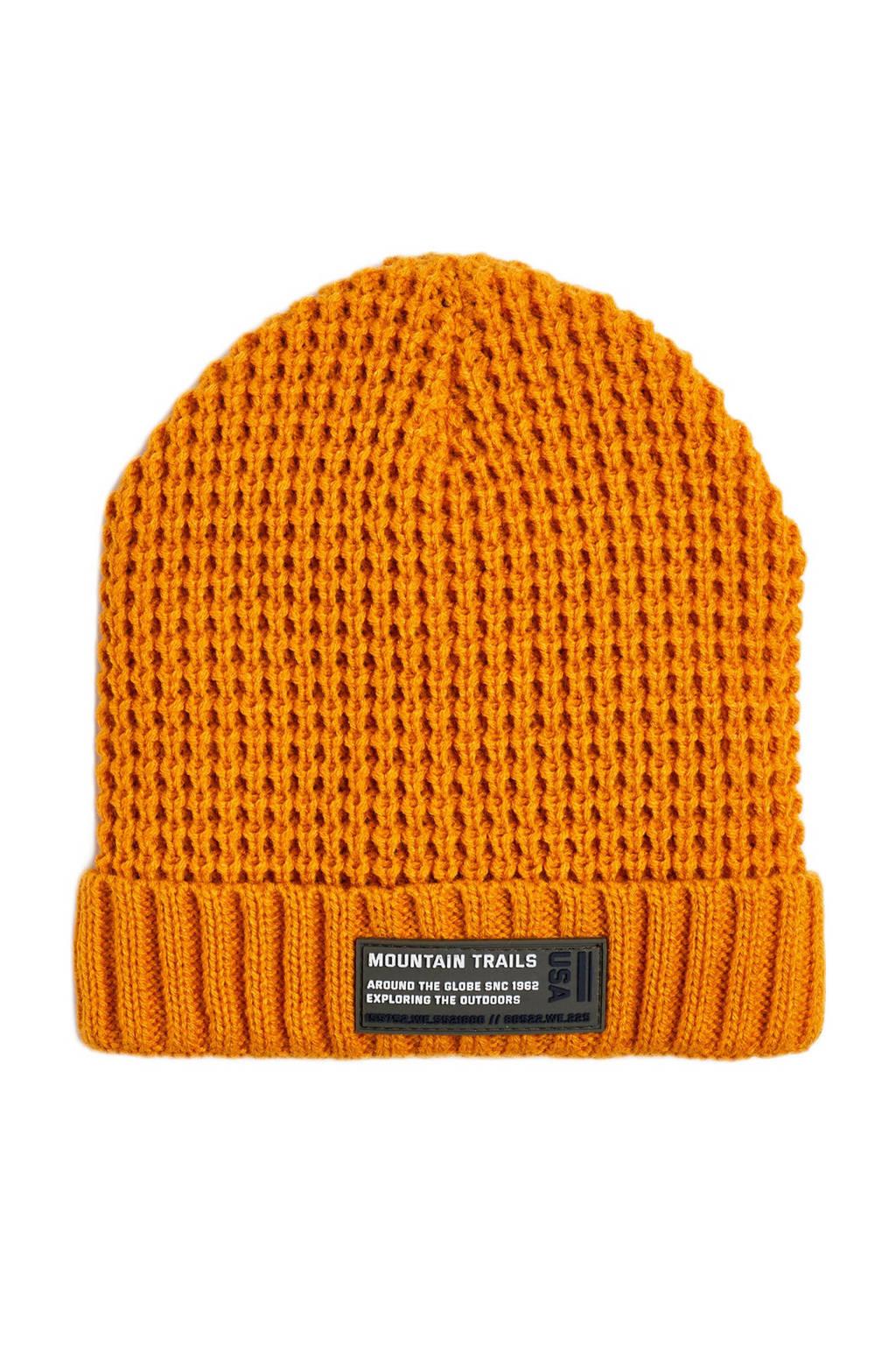 WE Fashion muts oranje, Sunflower