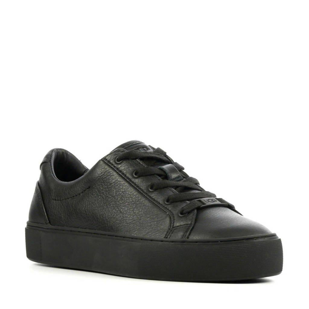 UGG Zilo 1104067 leren sneakers zwart, Zwart