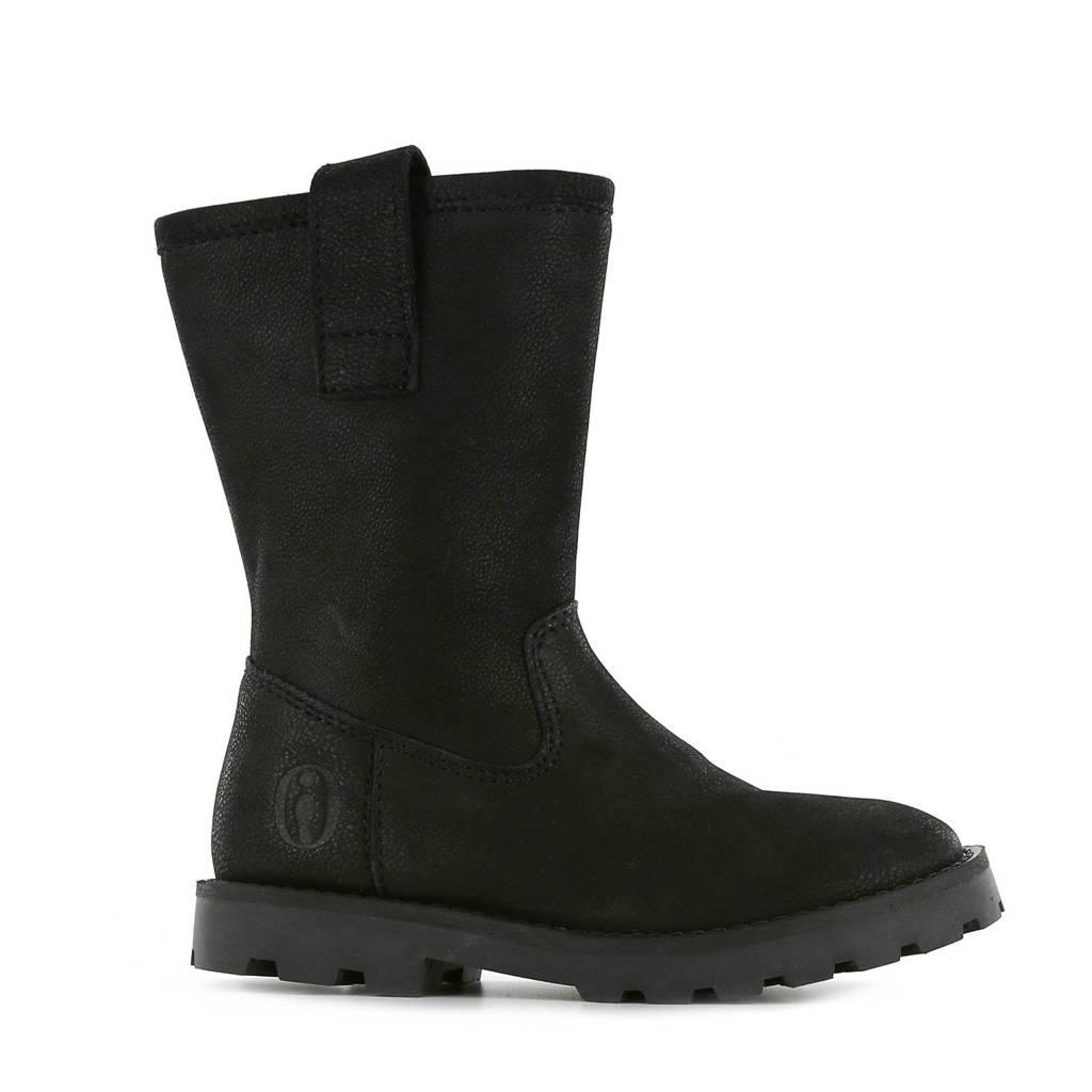 Shoesme TA20W017-A  leren laarzen zwart, Zwart