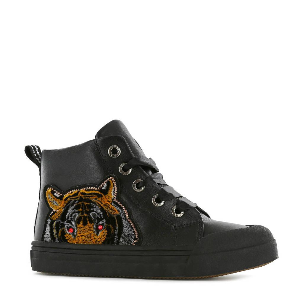 Shoesme BM20W009-A  hoge sneakers zwart, Zwart