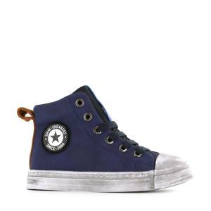 SH20W008-C hoge sneakers donkerblauw