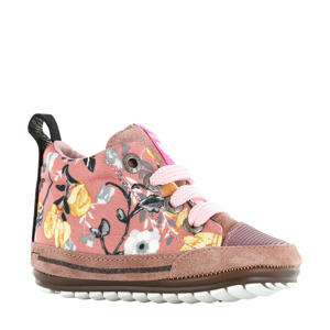 Baby Proof Smart  babyschoenen bloemenprint roze