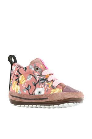 Baby Proof Smart  babyschoenen bloemenprint roze