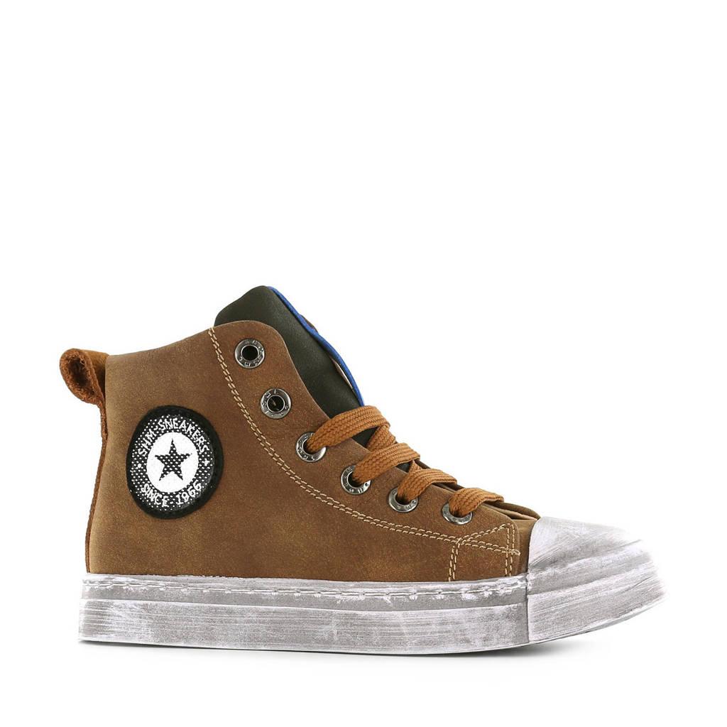 Shoesme  SH20W008-A hoge sneakers bruin, Bruin