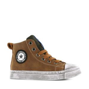 SH20W008-A hoge sneakers bruin