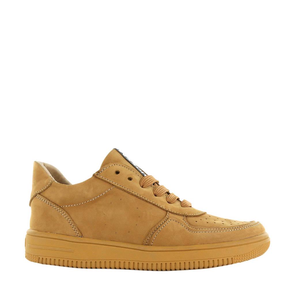 Shoesme MU20W032-B  leren sneakers bruin, Bruin