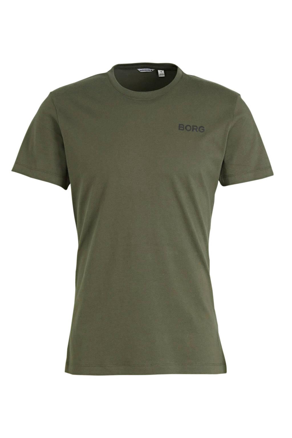 Björn Borg T-shirt groen, Groen