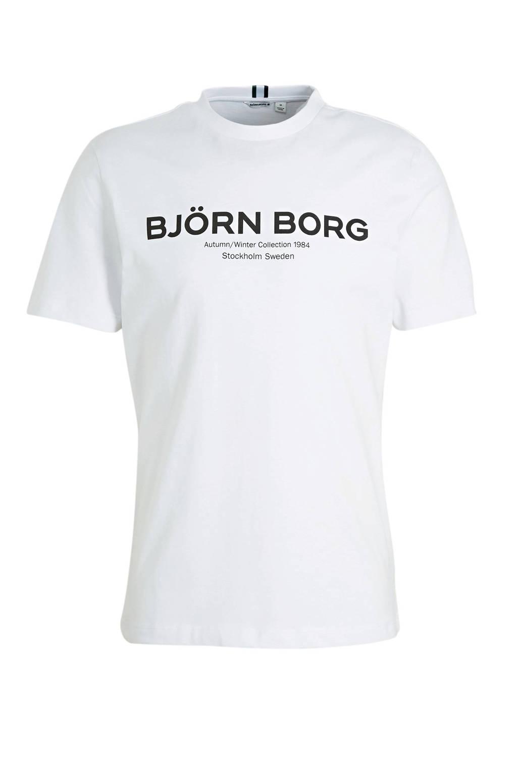 Björn Borg T-shirt wit, Wit