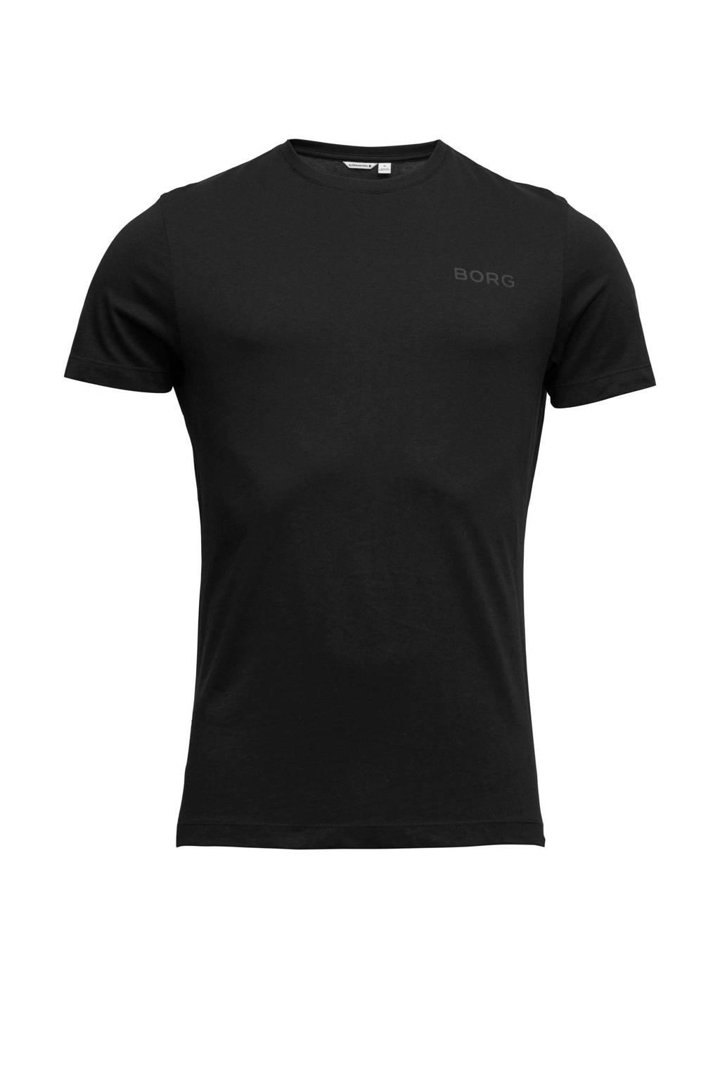 Björn Borg T-shirt zwart, Zwart