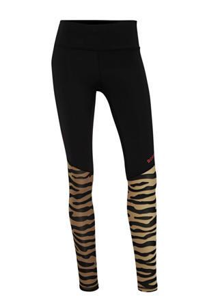 sportbroek zwart/bruin