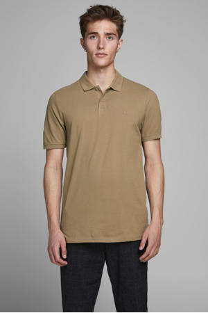 slim fit polo beige