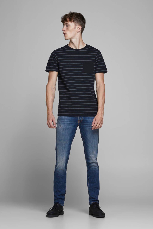 JACK & JONES JEANS INTELLIGENCE slim fit jeans Glenn stonewashed, Stonewashed