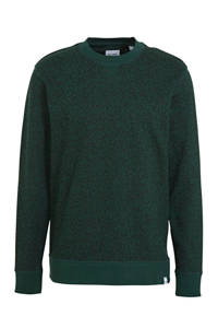 ONLY & SONS gemêleerde sweater van biologisch katoen donkergroen, Donkergroen