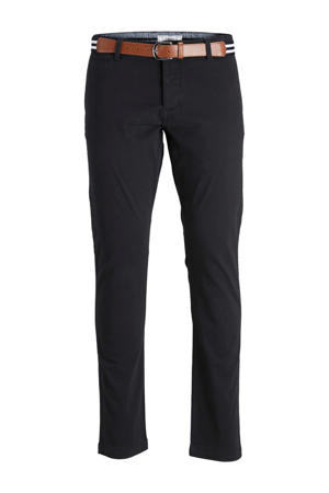 regular fit chino zwart