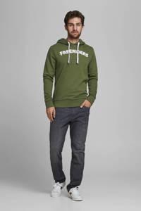 PRODUKT hoodie met printopdruk groen, Groen