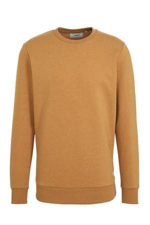sweater met biologisch katoen camel