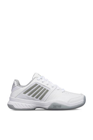 Court Express Carpet tennisschoenen wit/grijs