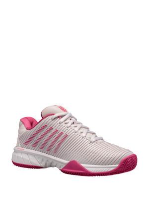Hypercourt Express 2 hb tennisschoenen wit/fuchsia