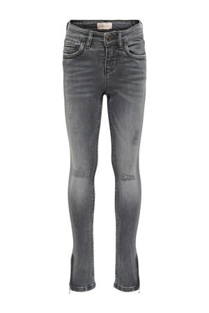 skinny jeans Kendel grijs stonewashed