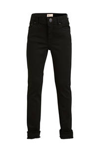 KIDS ONLY high waist skinny jeans Blush zwart, Zwart