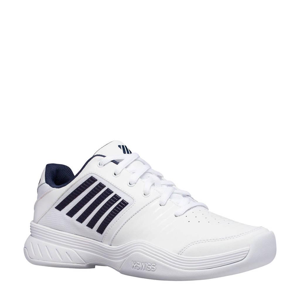 K-Swiss Court Express Carpet tennisschoenen wit/donkerblauw, Wit/donkerblauw