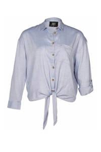 Zoey blouse lichtblauw, Lichtblauw