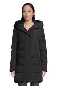Tom Tailor gewatteerde jas zwart, Zwart