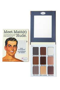 The Balm Meet Matte oogschaduw palette- Nude