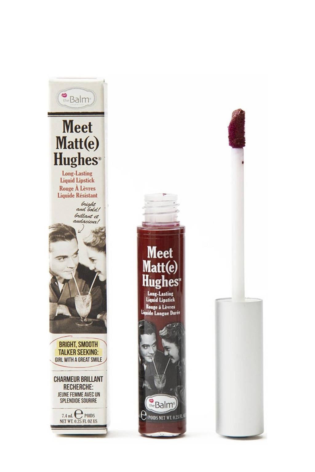 The Balm Meet Matte Hughes lippenstift - Adoring, Merlot