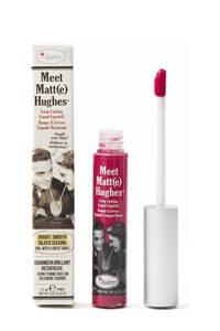 The Balm Meet Matte Hughes lippenstift - Sentimental, warm magenta