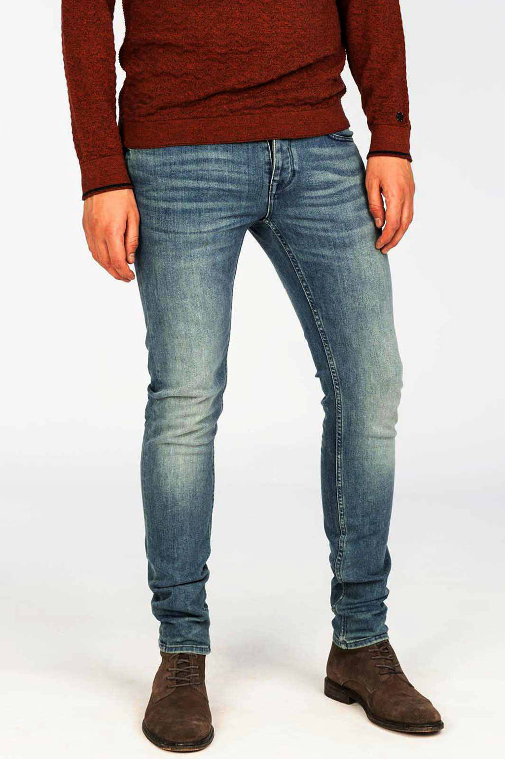 Cast Iron slim fit jeans Riser stonewashed, Stonewashed