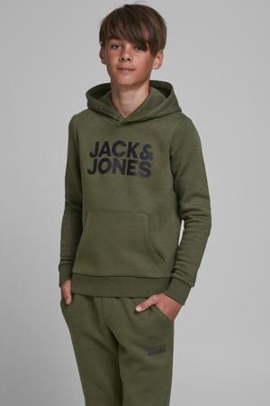 hoodie Corp met logo groen