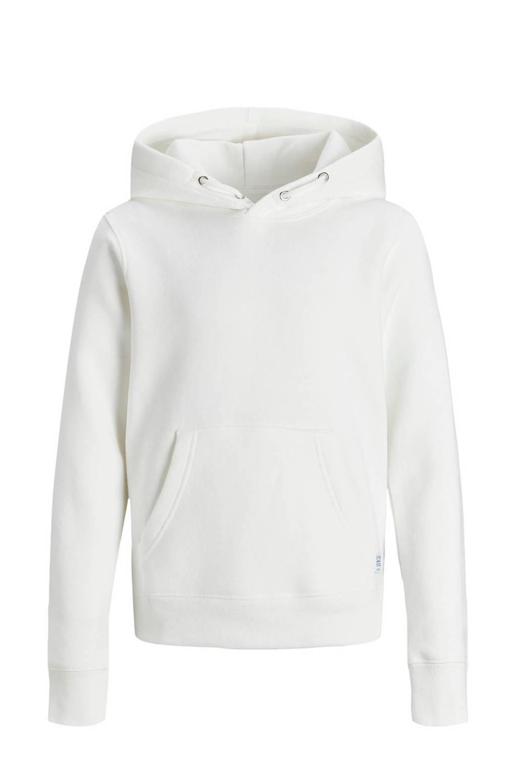 JACK & JONES JUNIOR hoodie Soft wit, Wit