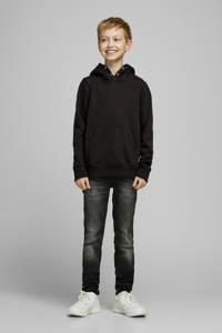 JACK & JONES JUNIOR hoodie JJESOFT zwart, Zwart