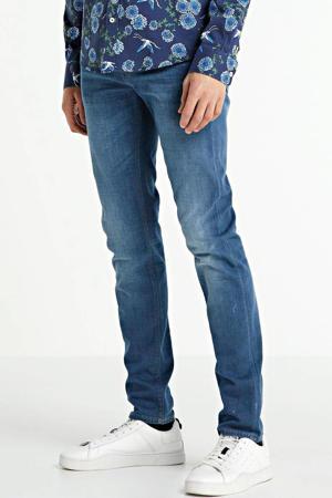 slim fit jeans V85 scrambler left hand blue