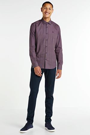 regular fit pantalon donkerblauw