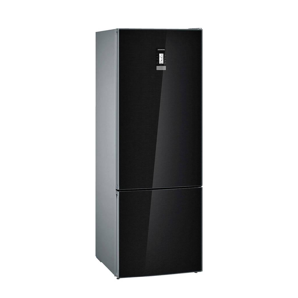 Siemens KG56FSB40 koel/vries combinatie, Zwart