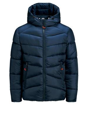 gewatteerde jas Ander donkerblauw