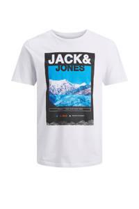 JACK & JONES CORE T-shirt met printopdruk wit, Wit
