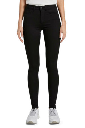 high waist super skinny jeans zwart