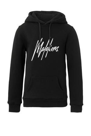 hoodie Signature met logo zwart