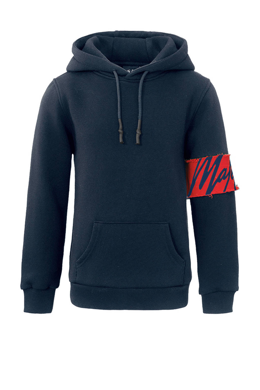Malelions hoodie Captain met logo donkerblauw, Donkerblauw
