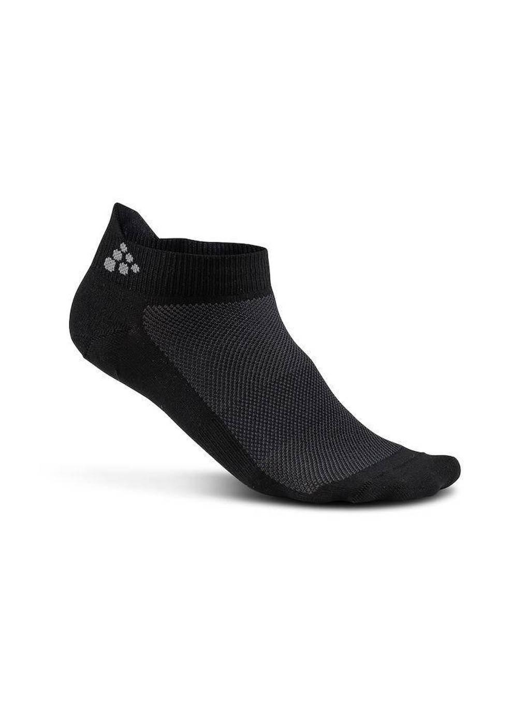 Craft   sneakersokken - set van 3 zwart, Zwart