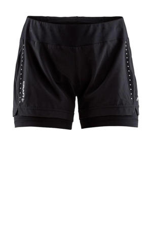 sportshort Essential 2-in-1 zwart